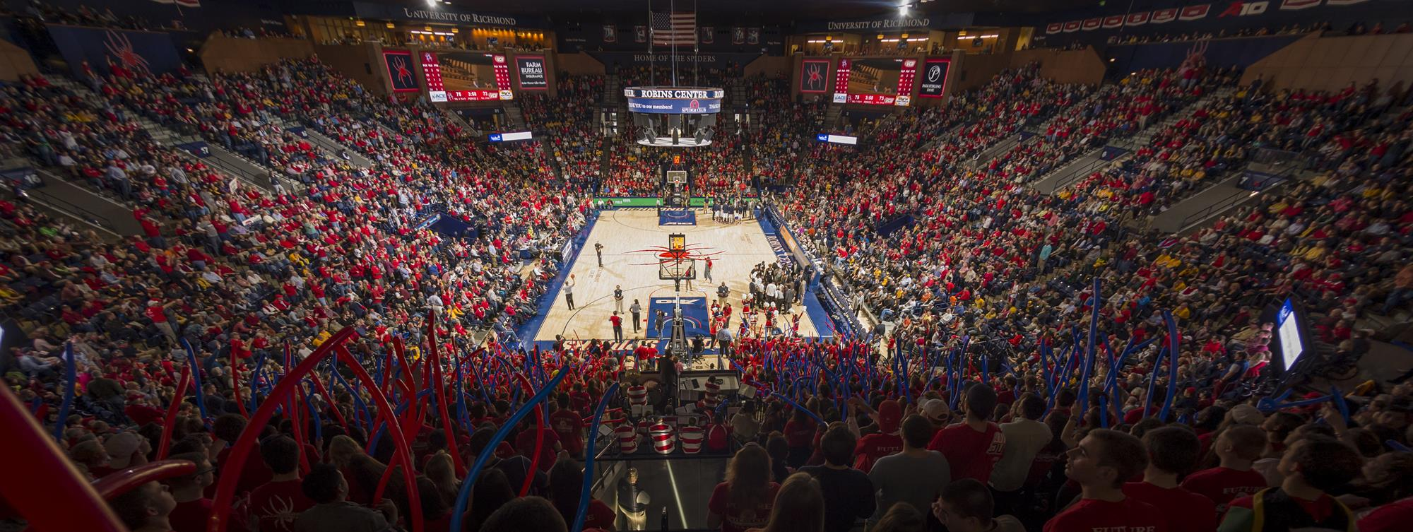 What S New At The Robins Center For 2017 18 University Of Richmond Athletics